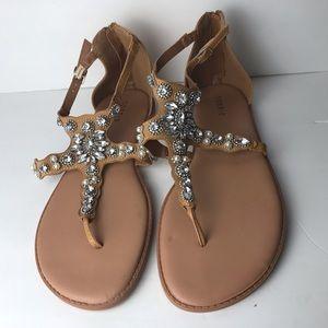 Torrid sandals size 11.5W